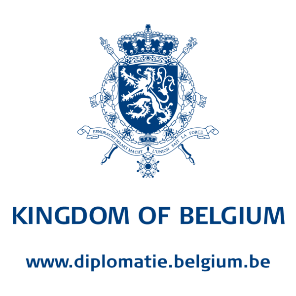 Logo Belgian FPS Foreign Affaires - Exterior - Even Years - Kingdom Of Belgium Underneath
